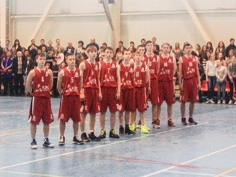 Обзор игры Школа №7, г.Новокуйбышевск - Школа № 1, г.Шахунья. 400 болельщиков.