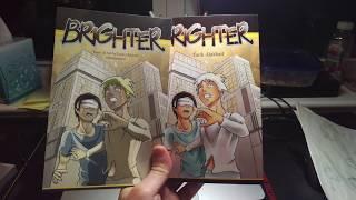 My manga, Brighter (Createspace Proof copy)