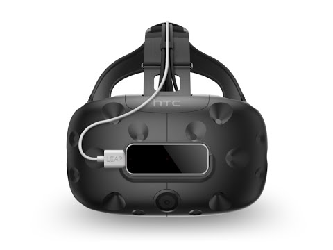 Leap Motion VR Mount + HTC Vive
