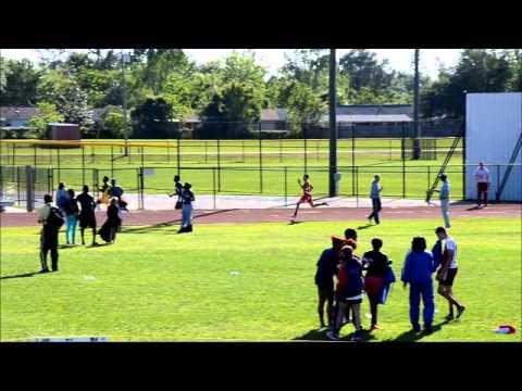 Jullian Jackson 2013 Track and Field Pascagoula High School