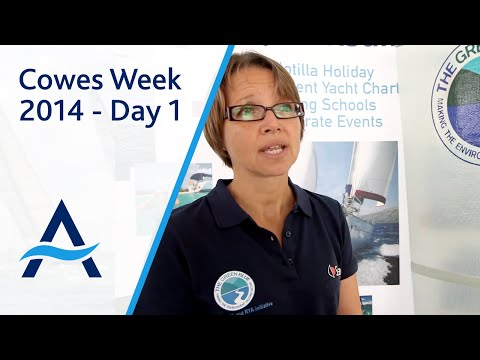 Cowes Week 2014 - Day 1 Highlights
