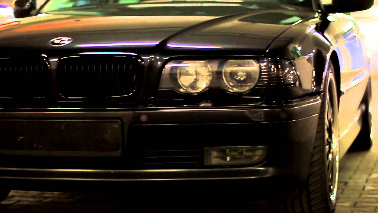 BMW e38 740iL Black Bandit (PL) - YouTube