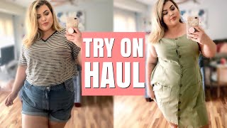 SUMMER PLUS SIZE HAUL + TRY ON | ASOS CURVE & LUCKY BRAND