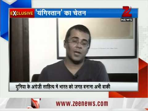 Zee Media Exclusive interview with Chetan Bhagat