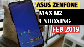 ASUS ZENFONE MAX M2 Unboxing and Review and Some Comparison with RealMe C1 2019 { हिंदी - Hindi}