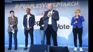 Independent columnists and MPs speak live from the People's Vote March on Brexit