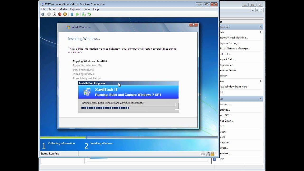how to set an operating system as default
