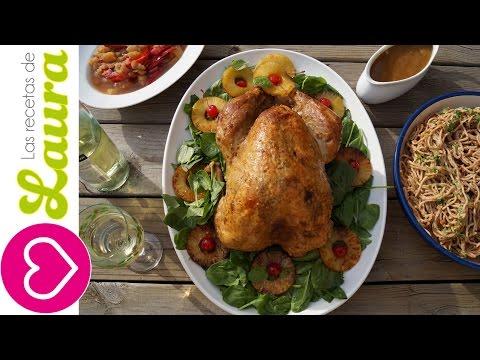 Pavo al Horno en Vino Blanco y Jugo de Frutas  - The best Oven-Roasted Turkey - Thanksgiving Recipes