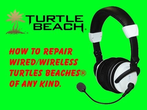 How To Repair Turtle Beaches of Any Kind  YouTube