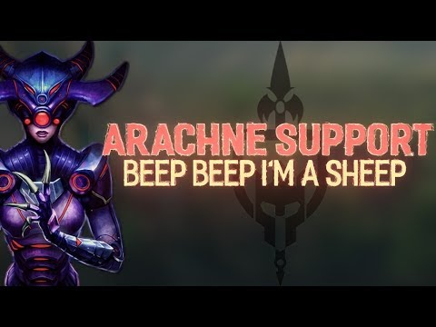 ARACHNE SUPPORT: IS MOVEMENT SPEED A SUPPORT BUILD? - Incon - Smite