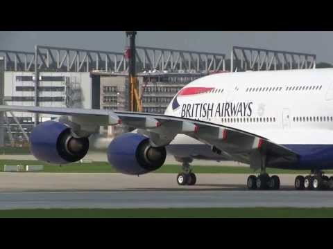 First Airbus A380 for British Airways - RTO / Rejected TakeOff