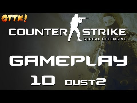 Counter Strike Global Offensive - Gameplay #10 de_dust2 [ Let's Play HD german CS GO ]