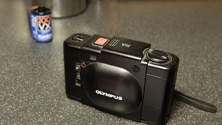 OLYMPUS XA 35mm Compact rangefinder camera, review and how to.