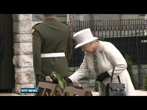 Wreath Laying in the Garden of Remembrance. http://www.rte.ie/newsnow. Watch LIVE coverage on RT� News Now. It was day that many people thought would never h...