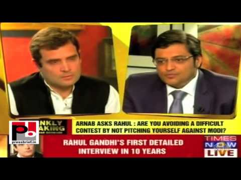 Rahul Gandhi's interview with Arnab Goswami on Times Now