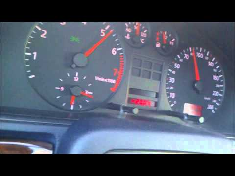 audi a4 2.4 v6 acceleration.wmv