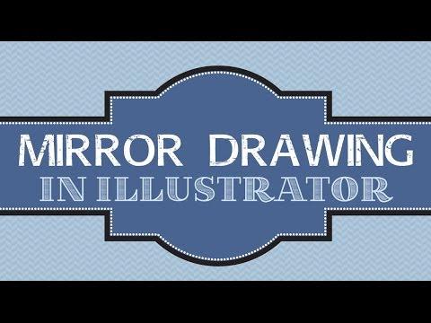 Mirror Reflection Drawings Reflective Drawing