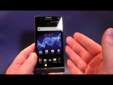 Sony Xperia S Unboxing and First Look