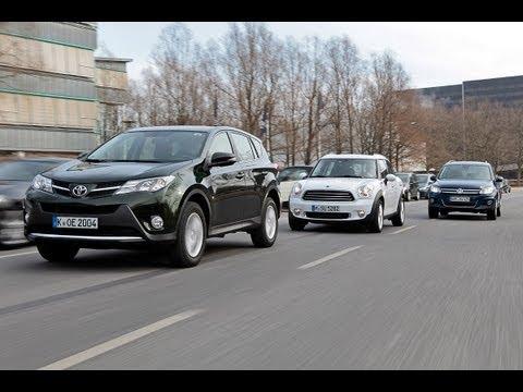 Toyota RAV4 vs. Mini Countryman vs. VW Tiguan