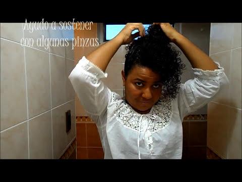 17 Rissos - Durmiendo con mis rizos parte II / Peinado mini Frohawk