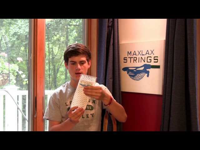 Max's Lacrosse Stringer's Tips - Materials Needed to String