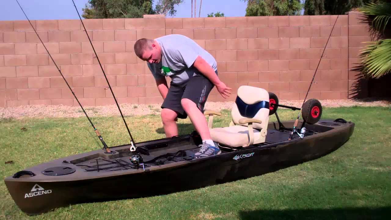 First Look At The New Ascend Fs 128t Fishing Kayak Youtube
