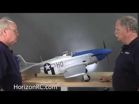 HorizonRC.com Preview - Hangar 9s P-51 Mustang .60 ARF