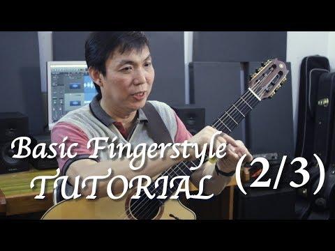Basic Fingerstyle Tutorial (2/3) - Jubing Kristianto