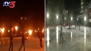 People Enjoying Ice Skating In Shimla | Himachal Pradesh