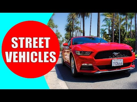 Street Vehicles for Children - Cars and Trucks - Learn Street Vehicle Sounds for Kids | Kiddopedia