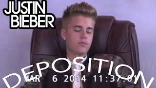 Justin Bieber Deposition - FULL VIDEO - 31 min - HD