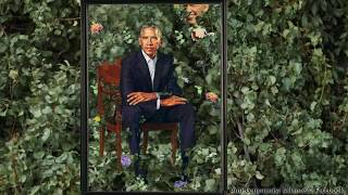 Barack Obama's Portrait Revealed And It's a Disaster