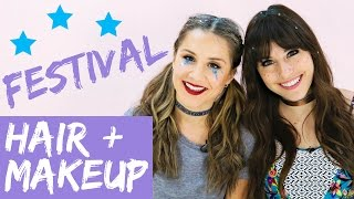 2017 Coachella Hair and Makeup Trends! (TRY THE TREND) | Hollywire