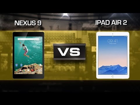 Prizefight - Nexus 9 vs. iPad Air 2