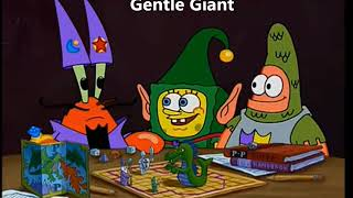 Prog Rock Bands Portrayed by Spongebob