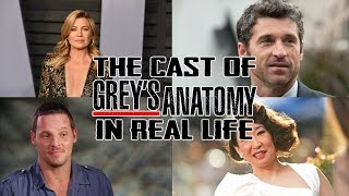 The Cast of Grey's Anatomy in Real Life