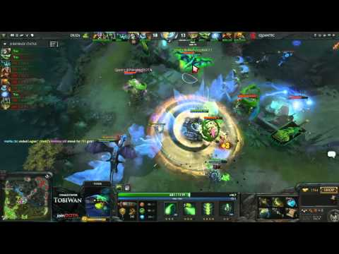 Quantic Gaming vs Duza Gaming   StarLadder VII DOTA2   TobiWan