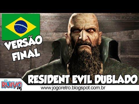 Resident Evil 4 DUBLADO Versão Final em Português no Playstation 2