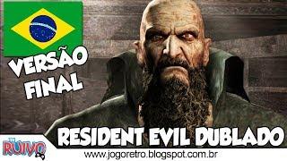 Resident Evil 4 DUBLADO (Versão Final) em Português no Playstation 2