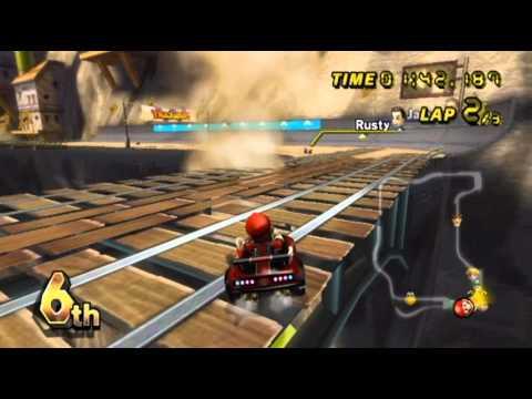 Mario Kart Wii - - Online Races 196: New Super Mario Bros. Wii Cup II