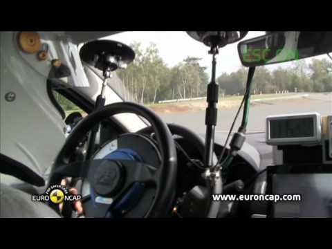 Euro NCAP | Renault Fluence ZE | 2011 | Электронный контроль устойчивости