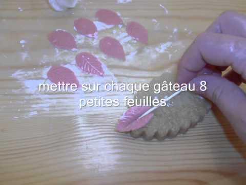 Gâteaux des fêtes la tresse حلويات الافراح
