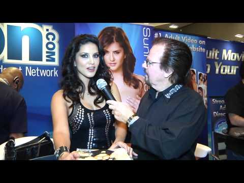 Sunny Leone Interview At Avn 2012 video