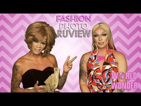 RuPauls Drag Race Fashion Photo RuView with Raja & Raven - Social...