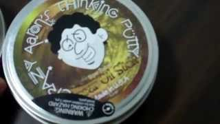 Crazy Aaron Thinking Putty, Super illusions review: Unboxed Super Lava and Super Oil Slick!