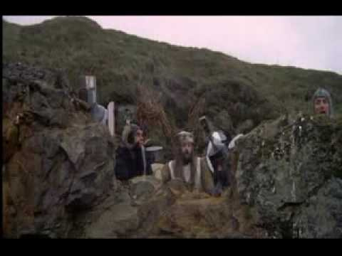 Monty Python-killer Bunny holy Hand-grenade video
