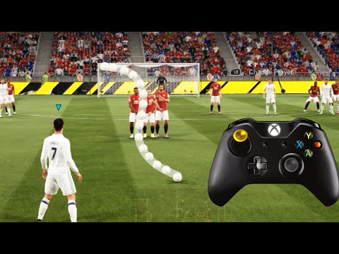 FIFA 17 KNUCKLEBALL/POWER FREEKICK TUTORIAL