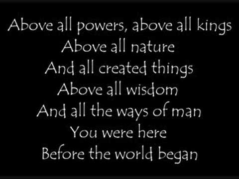 Michael W. Smith - Above All Lyrics | MetroLyrics