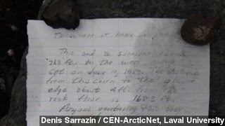Message In A Bottle Found 54 Years Later In Canadian Arctic