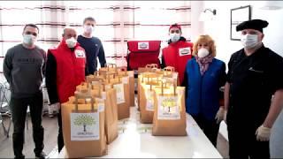 Благотворительные обеды пенсионерам в Колпино